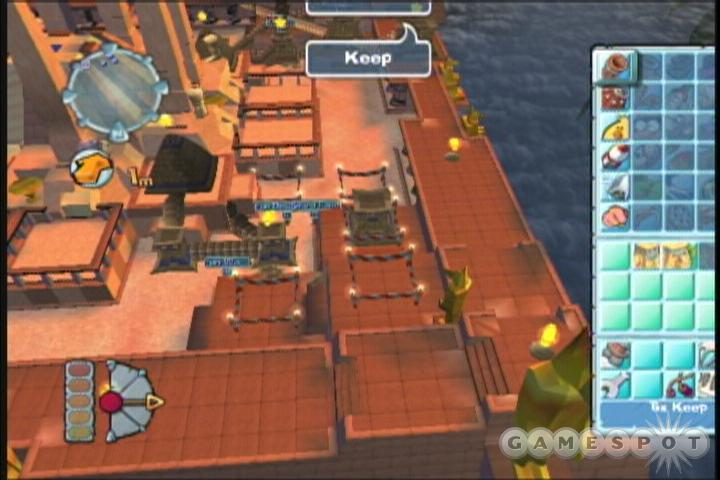 The gameplay has changed somewhat, but the trademark Worms action is still here.