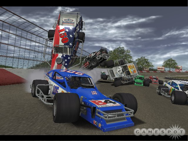 NASCAR 2005 includes the Nextel Series, the Busch Series, the Craftsman Truck Series, and the Featherlite Modified Series.