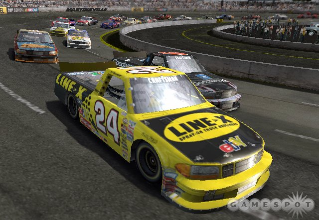 Players earn skill points for safe driving and for wins, which can be spent to buy thunder plates that unlock new drivers, cars, tracks, and paint schemes.