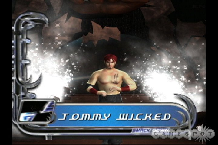 Though the new story mode is a tad too linear, it's still a gigantic improvement over what WrestleMania XIX had to offer.