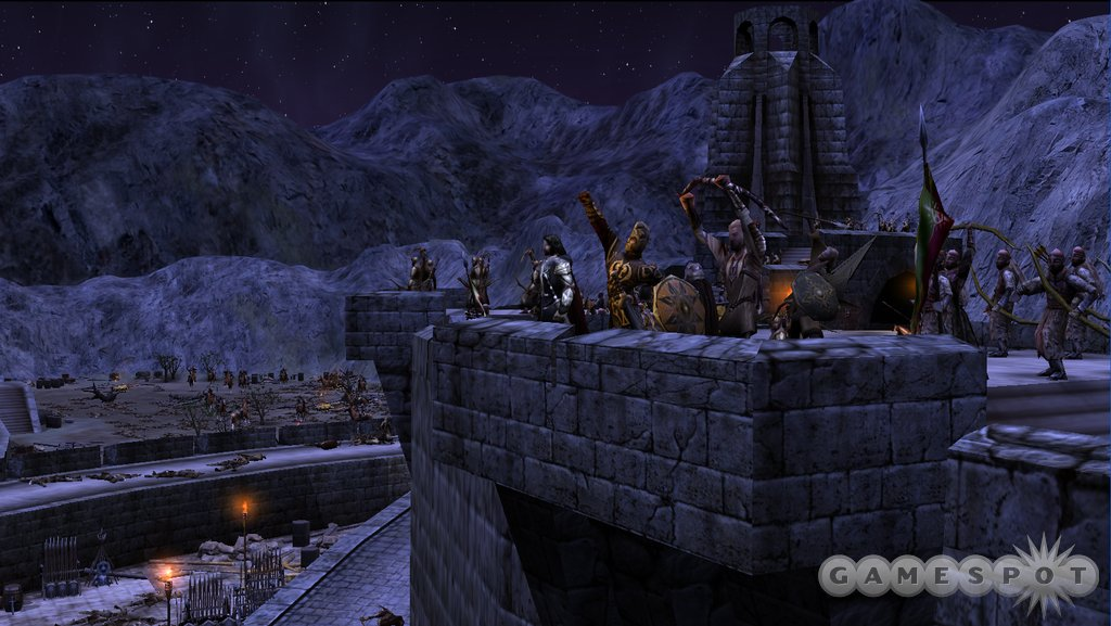 See screenshots of The Lord of the Rings, The Battle for Middle-earth