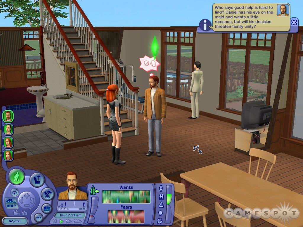 See screenshots of The Sims 2
