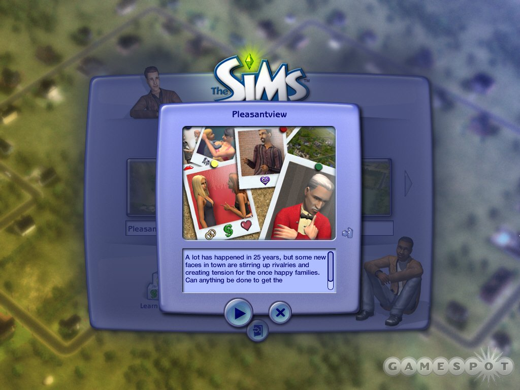 The Sims 2 offers up enhanced neighborhood, family, and housing options.