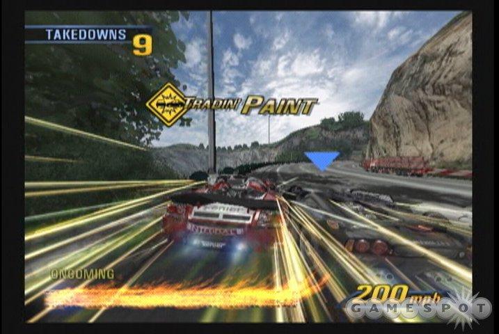 See screenshots of Burnout 3: Takedown