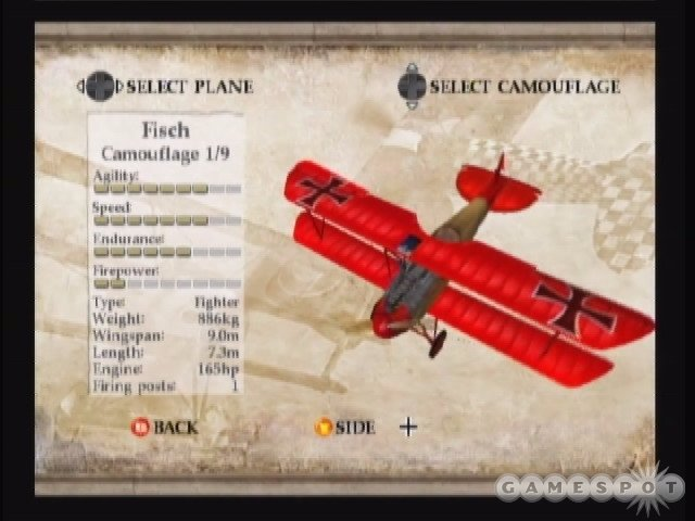 Even though the planes are rated in various caetgories, they all handle more or less the same.