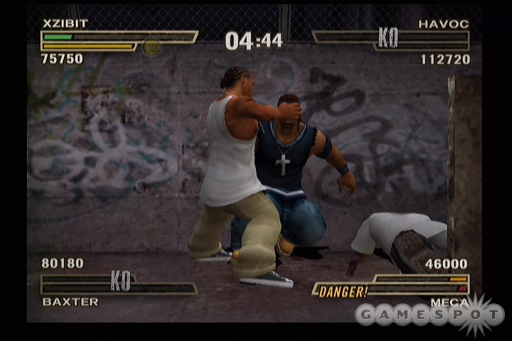 See screenshots of Def Jam: Fight for NY