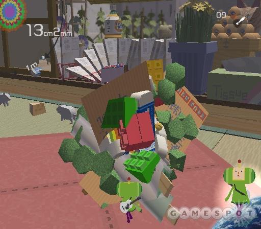 See screenshots of Katamari Damacy