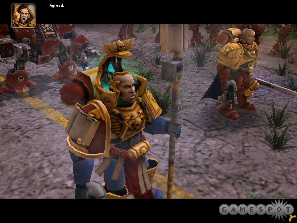 The game's units are highly detailed, though they still don't make for great cutscenes during the brief single-player campaign.