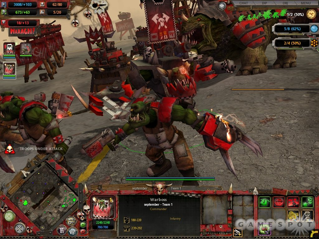 The world of Warhammer 40,000 is brought to life like never before in this excellent game.