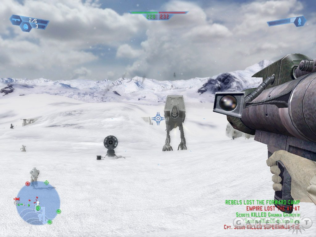 Battlefront is set in two different time periods in the Star Wars universe.