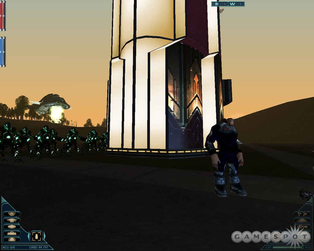 Alien Invasion adds player-built cities and aliens that can invade them.