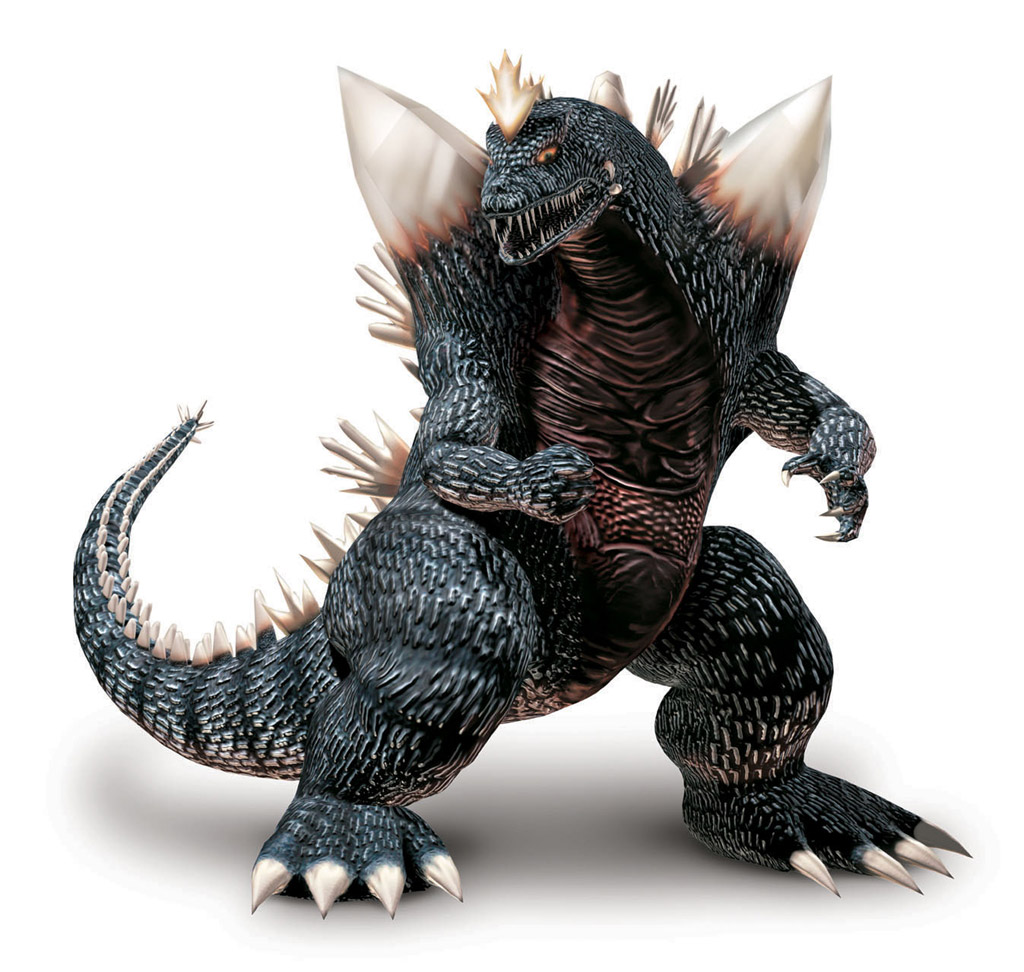 Part Godzilla. Part Space. All monster. All the time.