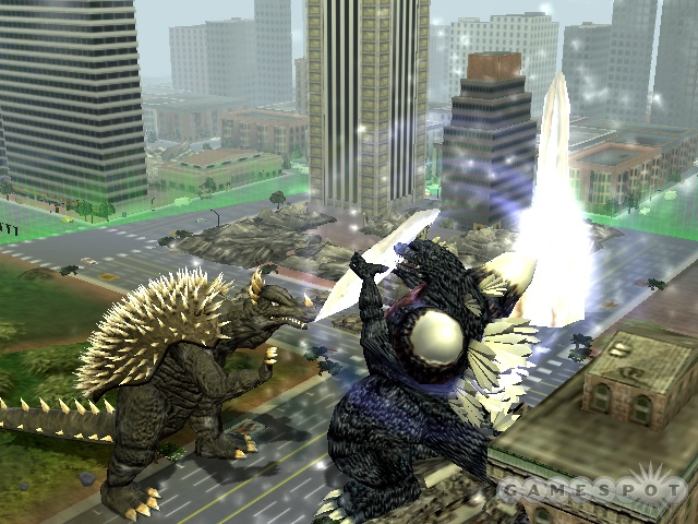 SpaceGodzilla uses its crystalline body structure to help it win battles.