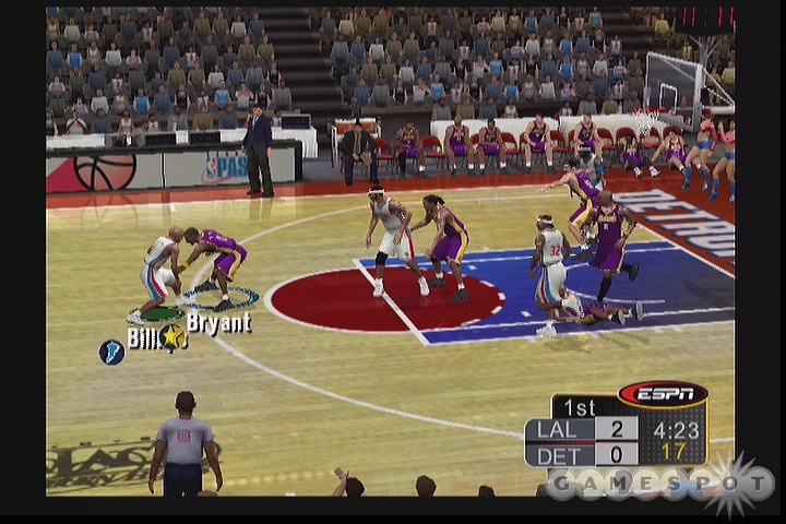 Among other things, ESPN NBA 2K5 is easily the best-looking basketball game this year.