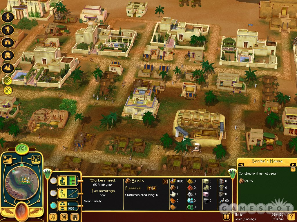 Build the ancient Egyptian city of your dreams in Children of the Nile.