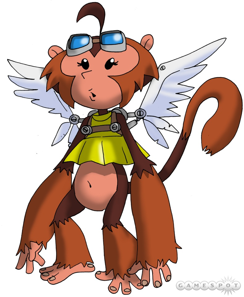 No game is truly complete without a flying monkey.