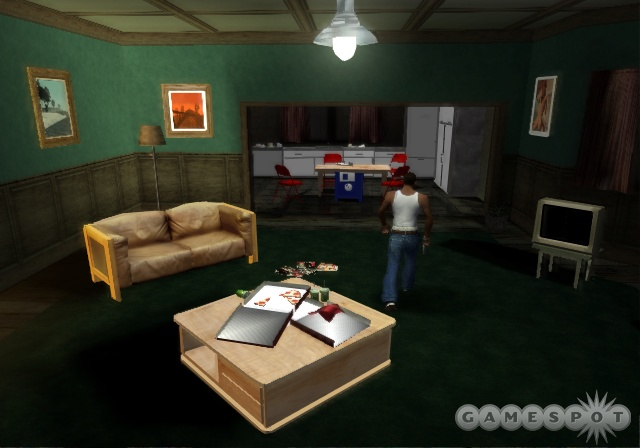 Home sweet home, San Andreas style.