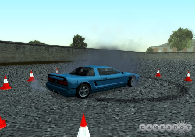 Earning a license, San Andreas style.