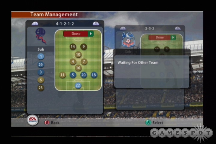 The music on offer in FIFA 2005 is eclectic, to say the least.