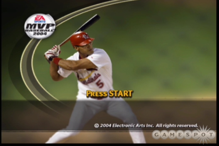 MVP Baseball 2004 cover boy Albert Pujols looked to play a big role in the MVP Baseball World Series.