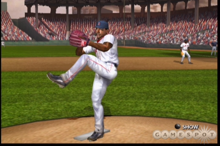 Pedro Martinez, out to prove his daddy-ness against the Cardinals.
