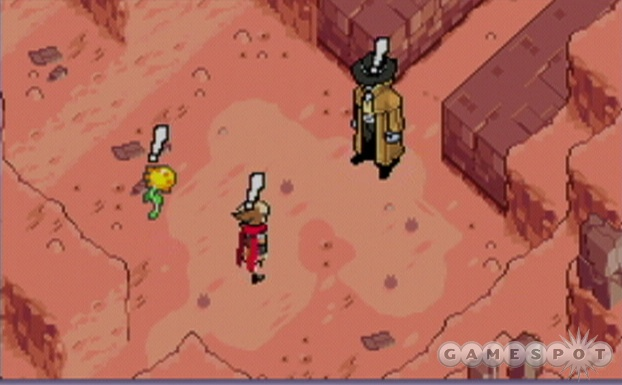 An anime-style spaghetti Western/horror movie that needs sunlight for best results? That's Boktai 2.