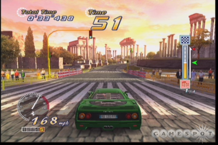 You'll eventually unlock 12 different Ferraris in the game.