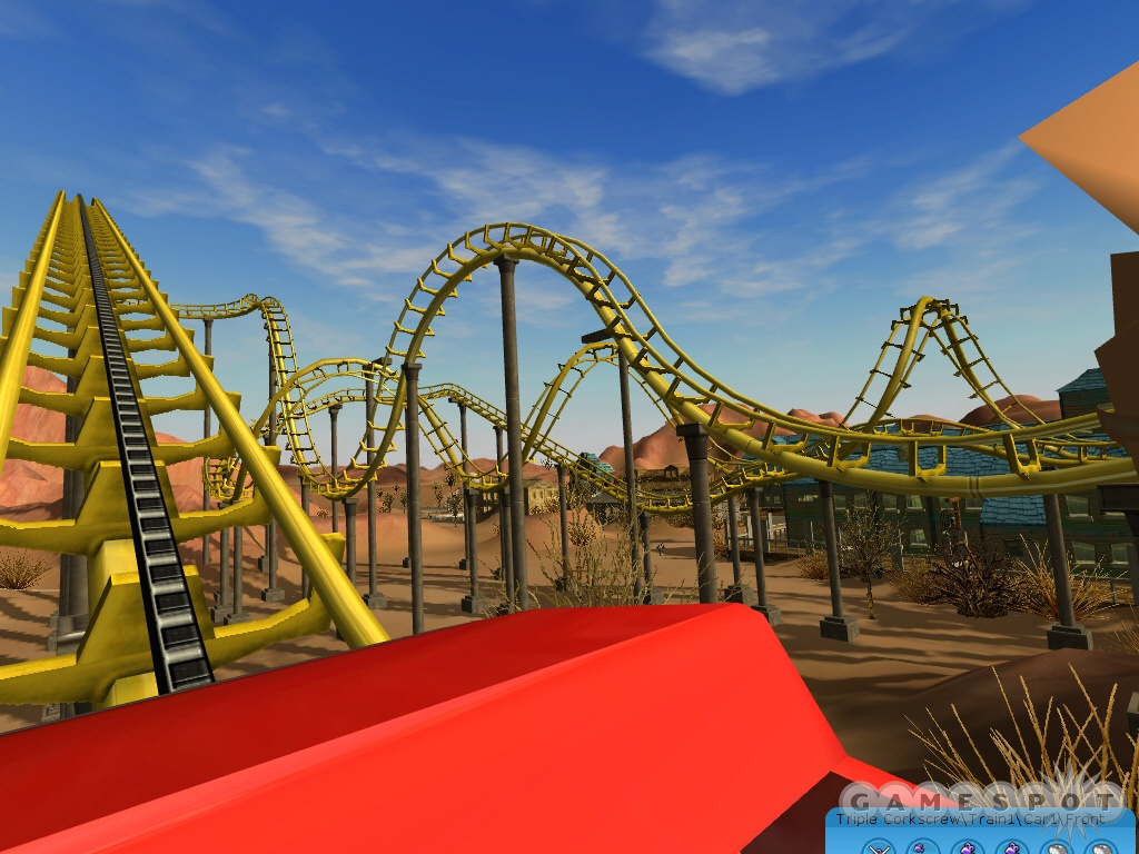 The new 3D graphics engine allows you to ride the rides like never before.