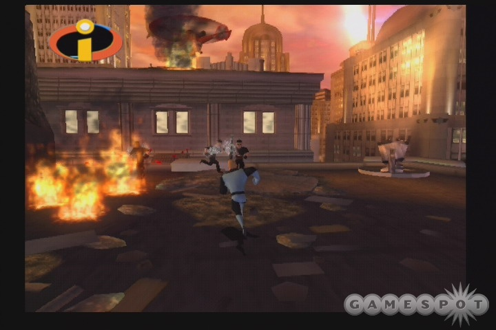 For a game called The Incredibles, this game sure lacks incredibility.