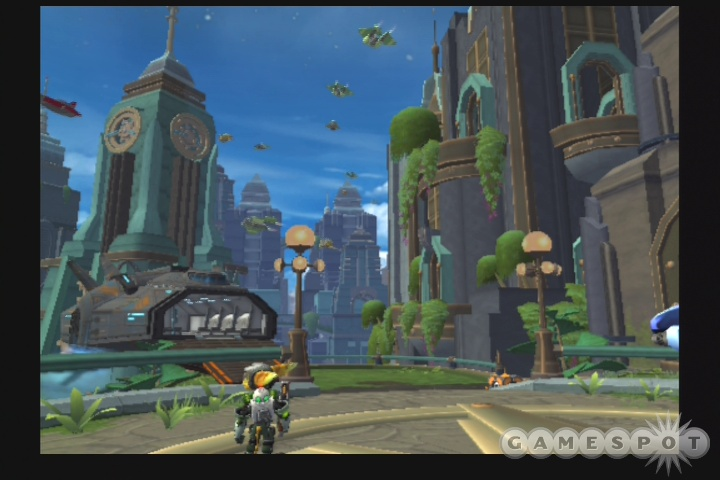 Ratchet & Clank have all of the same moves they had last year, along with a few new ones.
