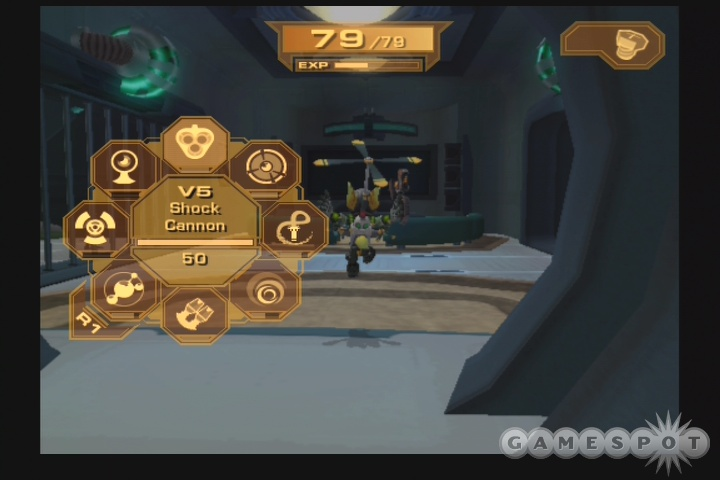 Ratchet & Clank: Up Your Arsenal's progressive scan support makes the game look a little cleaner.
