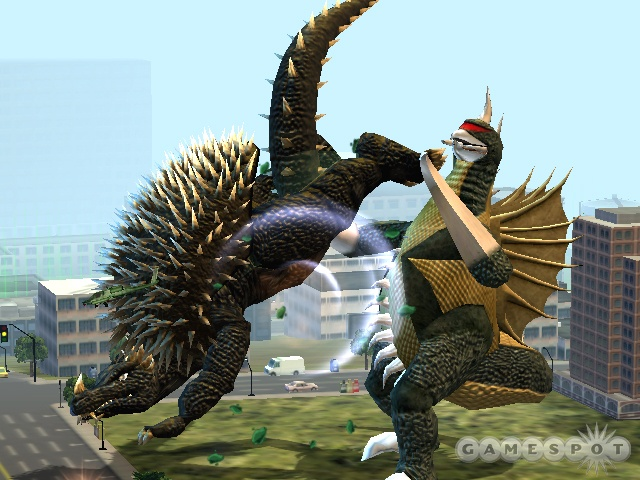 With his thick, spiny armor, Anguirus will prove to be a valuable ally for Godzilla.
