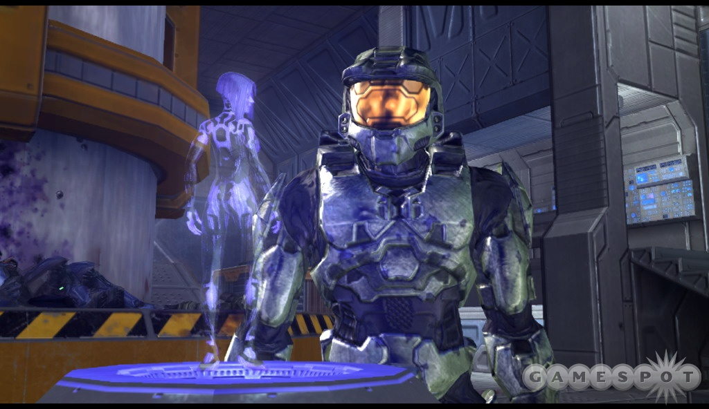 It's good to see you, Master Chief.