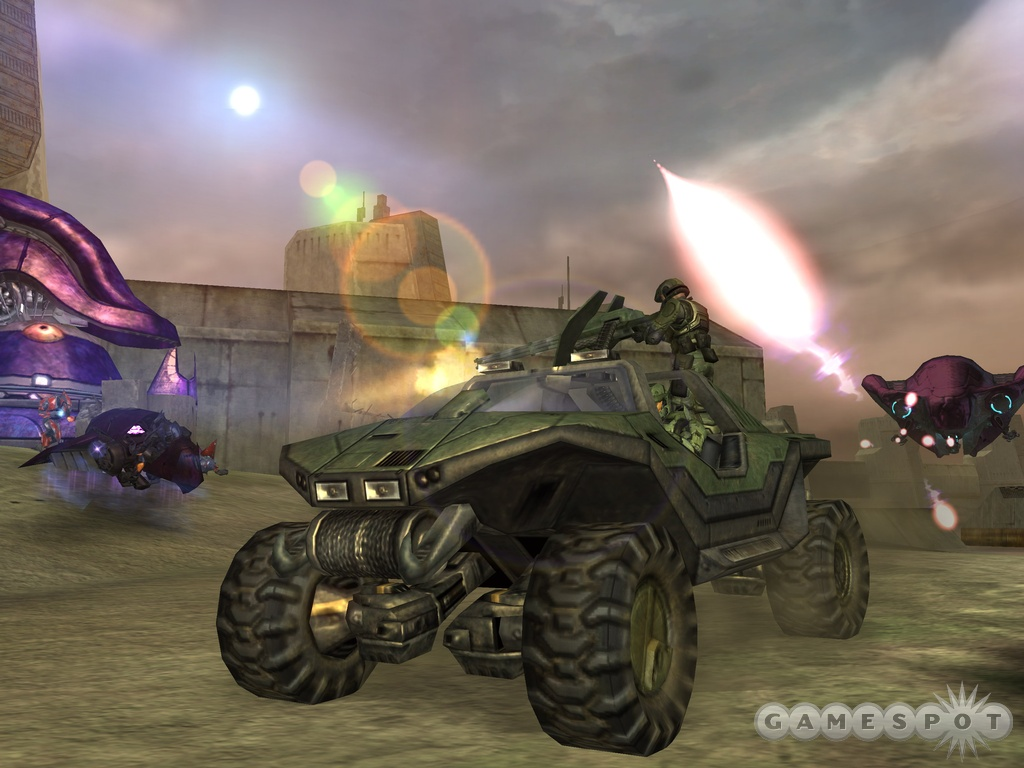 Halo's memorable vehicles make a triumphant return in the sequel.