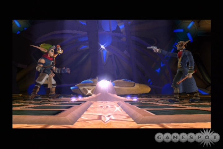 Jak and Daxter must save the world from evildoers--yes, again--in Jak 3, the conclusion of the Jak series.