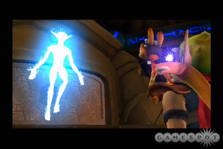 As we've come to expect from the series, Jak 3's cutscenes and overall presentation boast superb production values.