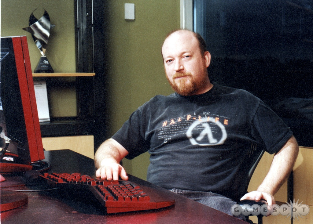 Valve's Ken Birdwell worked on new in-game character technology.