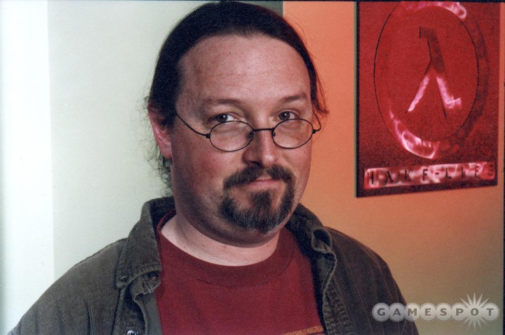 Valve writer Marc Laidlaw.