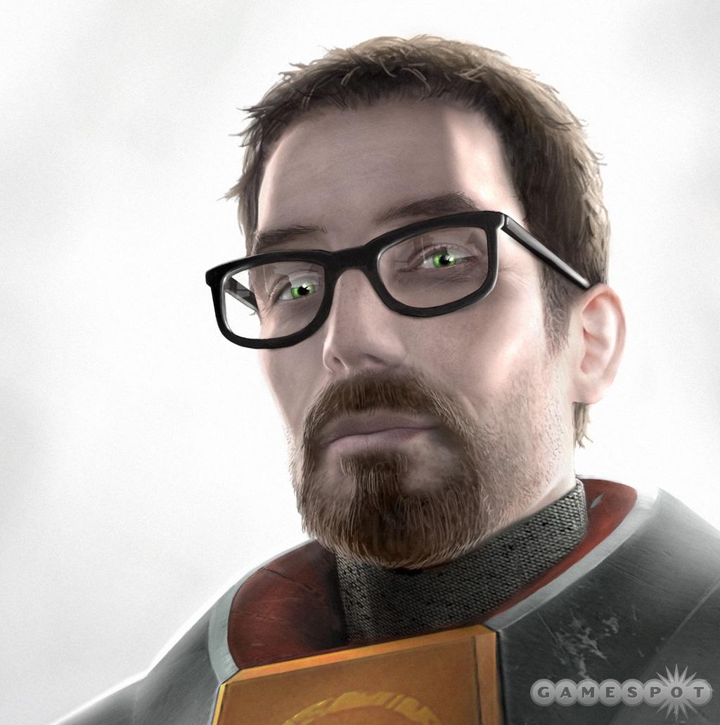 Gordon Freeman, the star of Half-Life 2.
