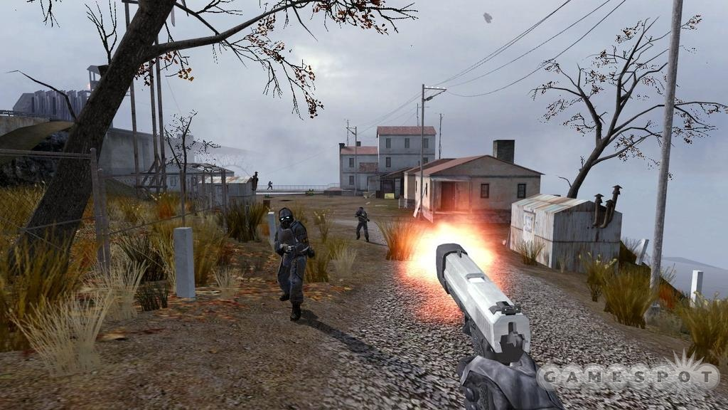 Outdoor combat sequences were brought to life with physics-based gameplay.