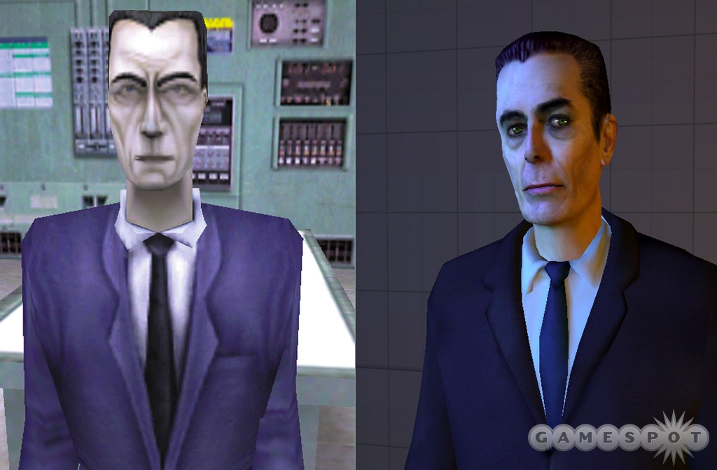 The G-Man opened the E3 2003 demo of Half-Life 2.