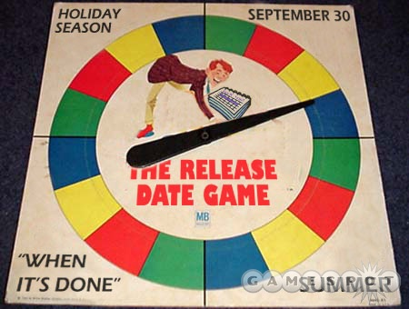 The release date was so uncertain that one fan created a game of 'Half-Life 2 Release Date Twister'.