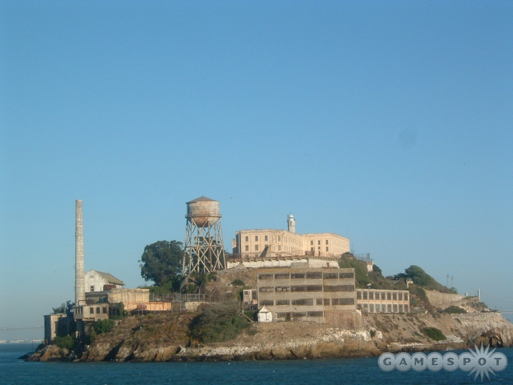 The Half-Life 2 launch party was supposed to happen on Alcatraz Island.