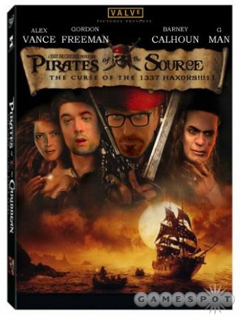 After hearing of the Source code theft, fans made a poster parody of 'Pirates of the Carribean'