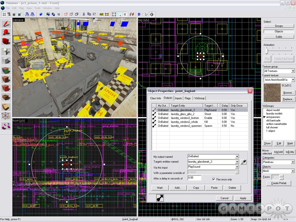 By early 2004 tools like Hammer, the game's editor, were getting easier to use.