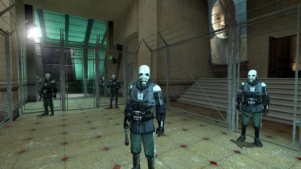 The game's opening sequence now takes place inside a train station.