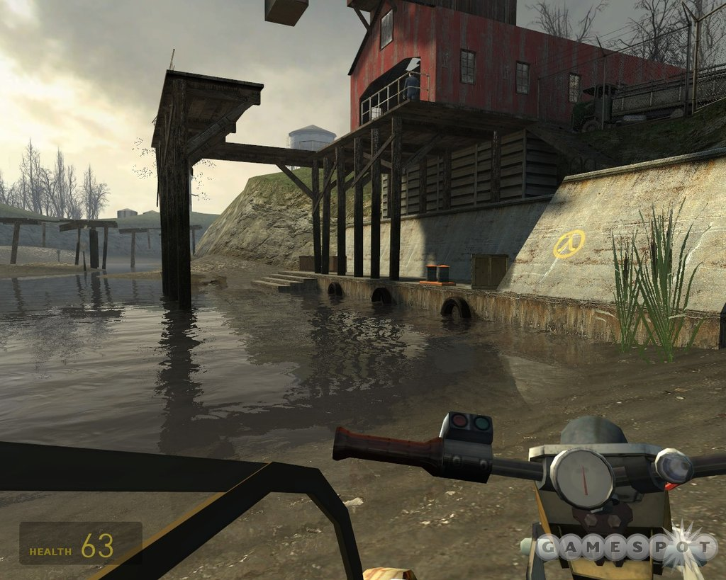 The graphics in Half-Life 2 are simply stunning to behold, and the level of immersion is unmatched.