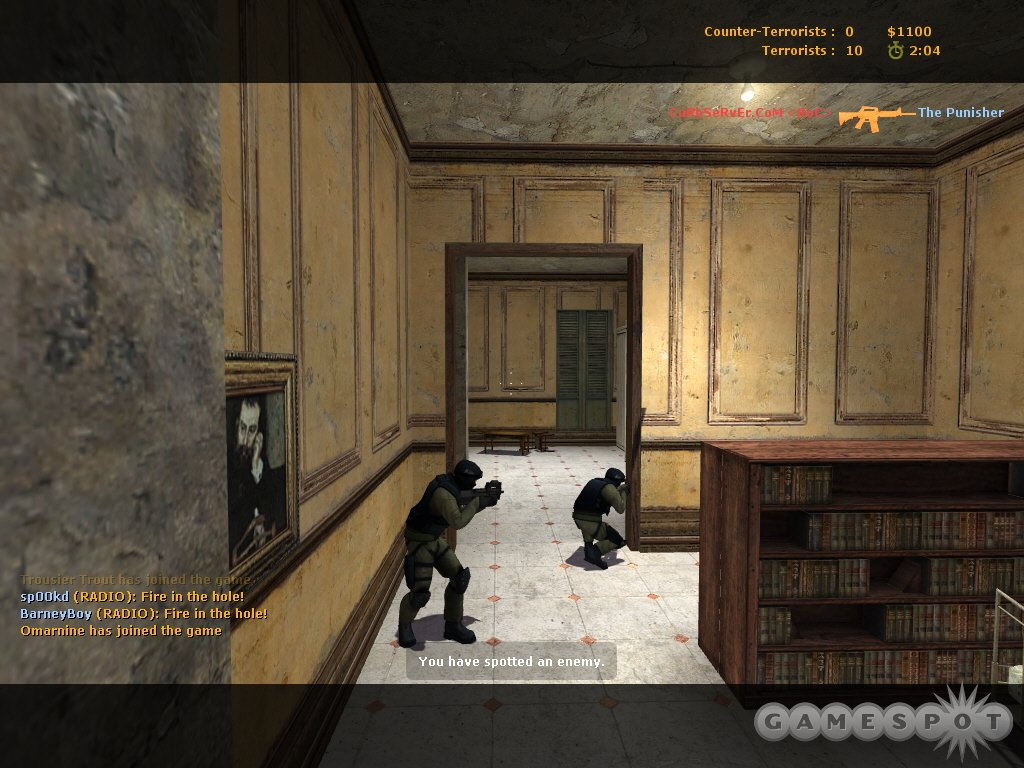 Counter-Strike: Source updates the popular online game with Half-Life 2's graphics engine, making an already good game even better.