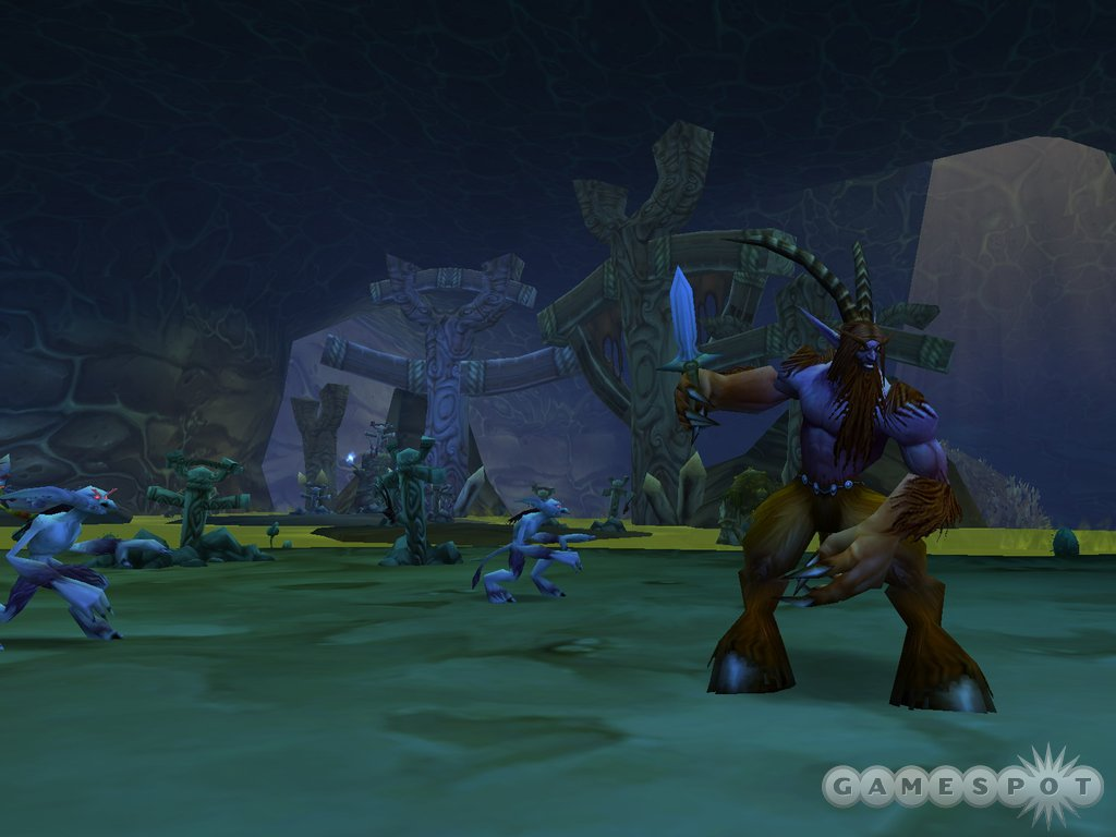 Blizzard intends for the player vs. player elements to be just as appealing as the player vs. environment elements.