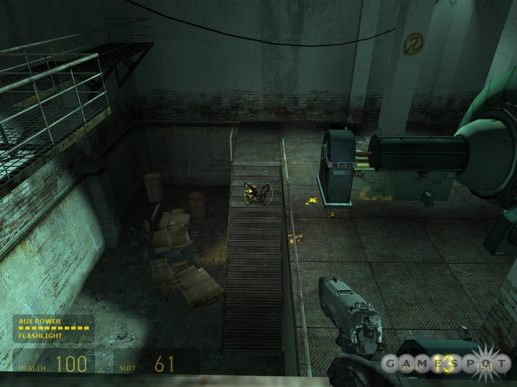Most headcrabs can be easily killed with your pistol, if you can prevent them from reaching you.